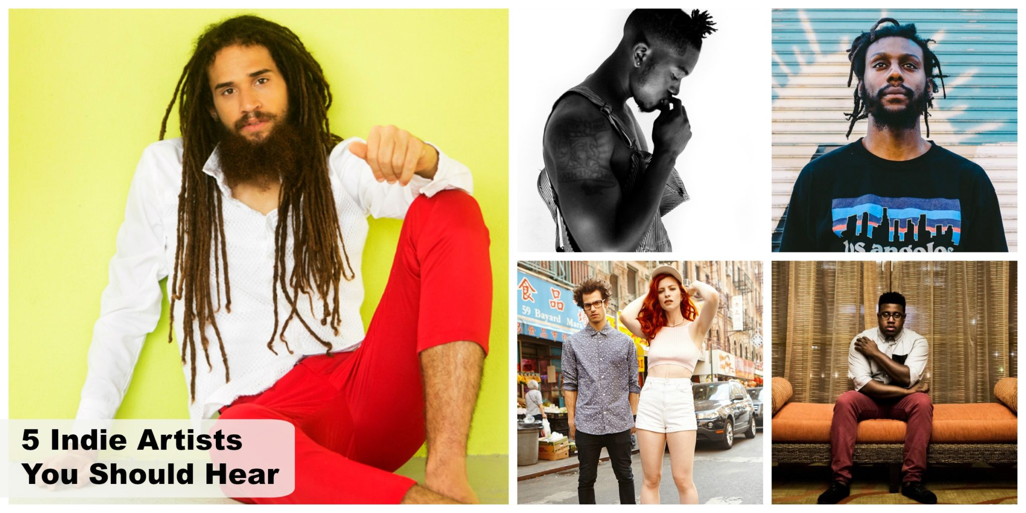 5 Indie Artists You Should Hear – October 2015
