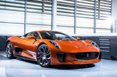 Jaguar CX75 concept car James Bond SPECTRE