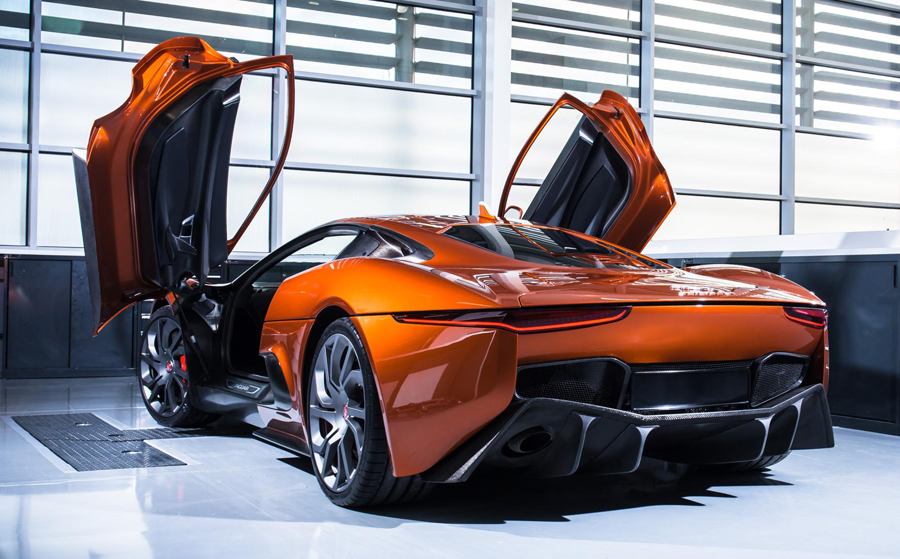 Jaguar CX75 james Bond SPECTRE
