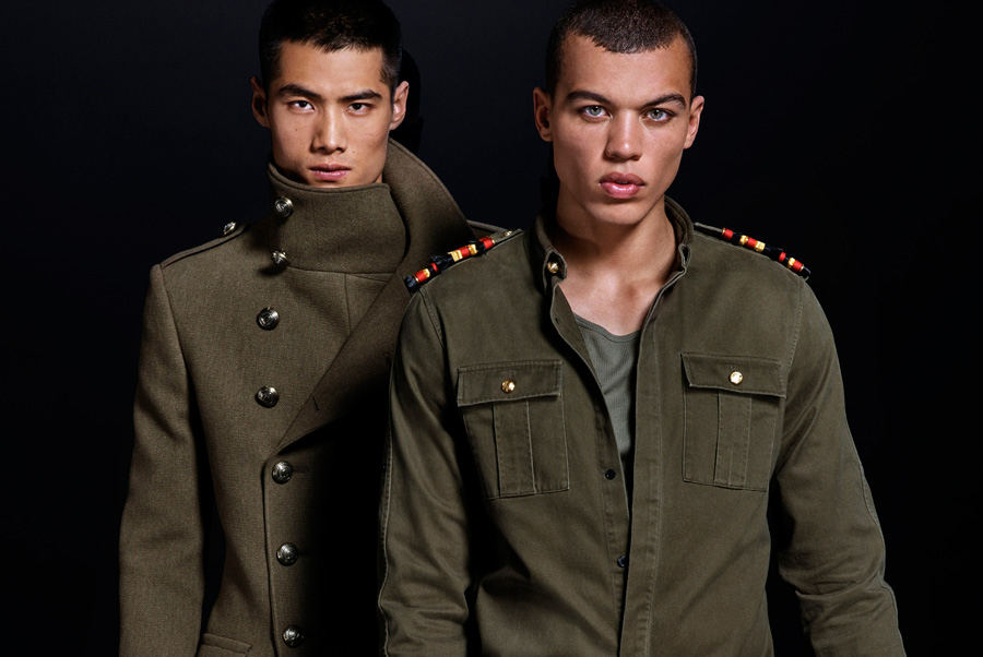 Fashion Designer Olivier Rousteing Unveils Luxurious Balmain X H&M Menswear Collection