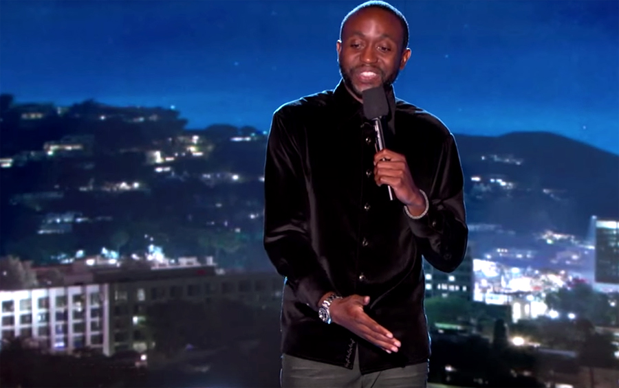 Comedian Byron Bowers Shares His Thoughts on Apple Care vs Obamacare