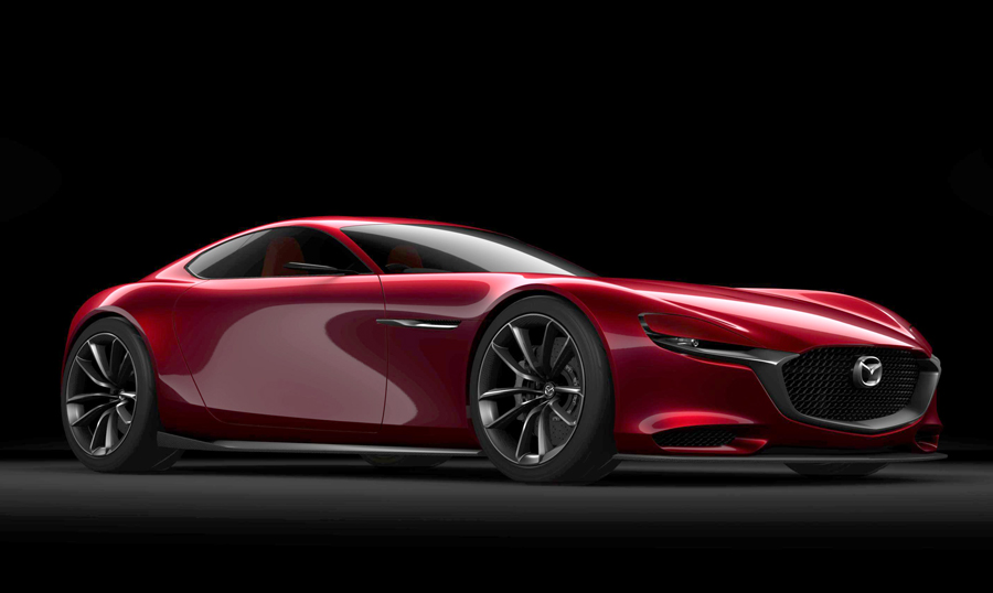 mazda rx vision concept car 2