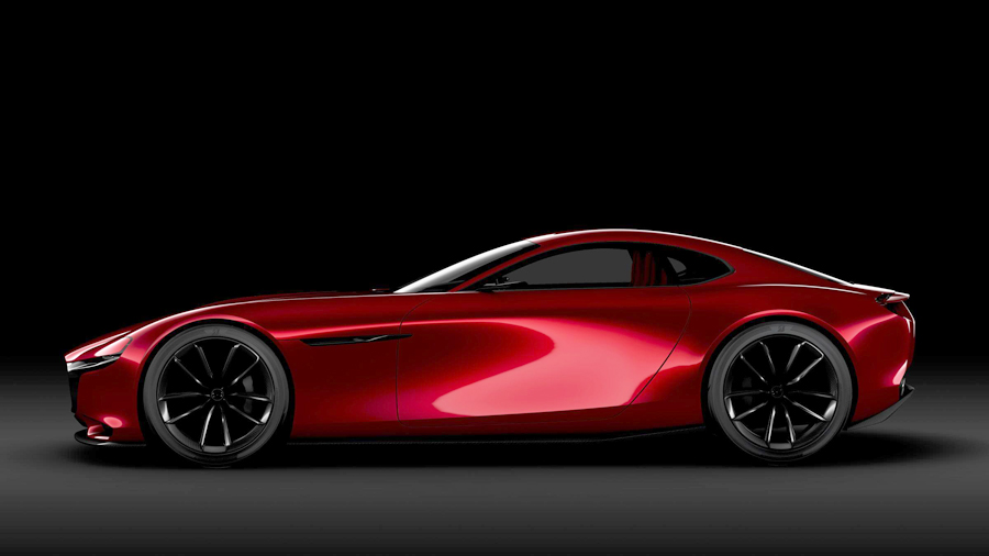 Mazda Shows the Future of Vroom with the RX-VISION Concept Car