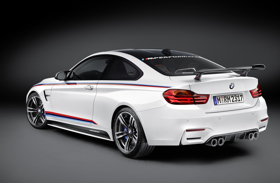 bmw tricks out m4 coup with new bmw m performance parts mocha man style. Black Bedroom Furniture Sets. Home Design Ideas