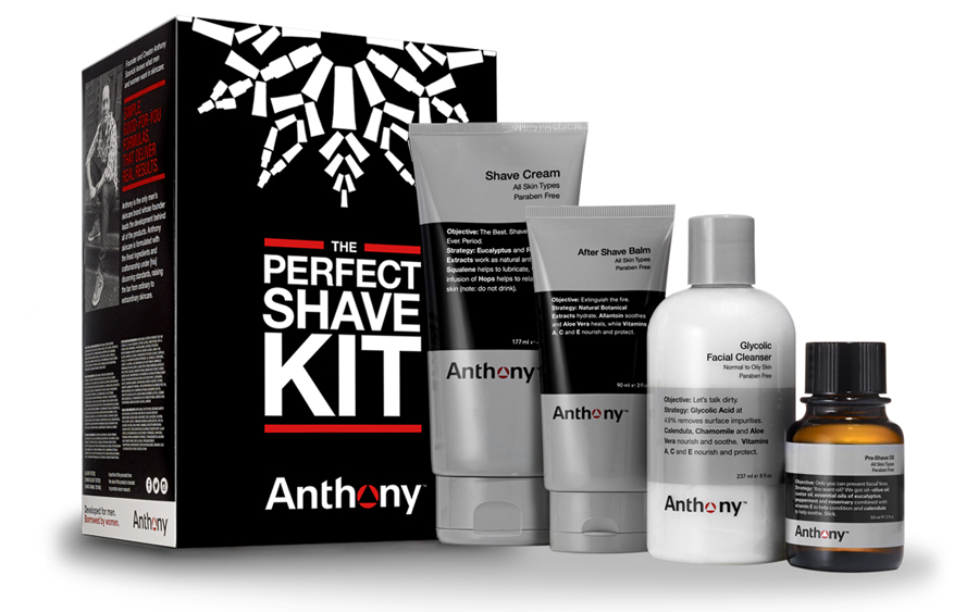 Anthony Perfect Shave Kit