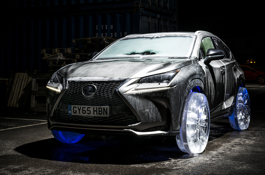 lexus nx ice tires