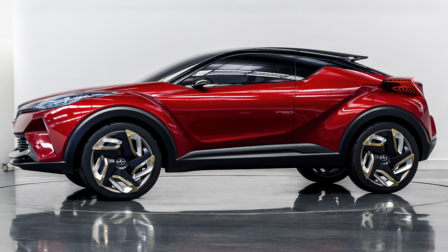 The Scion C-HR Concept Car is Proud to be Weird