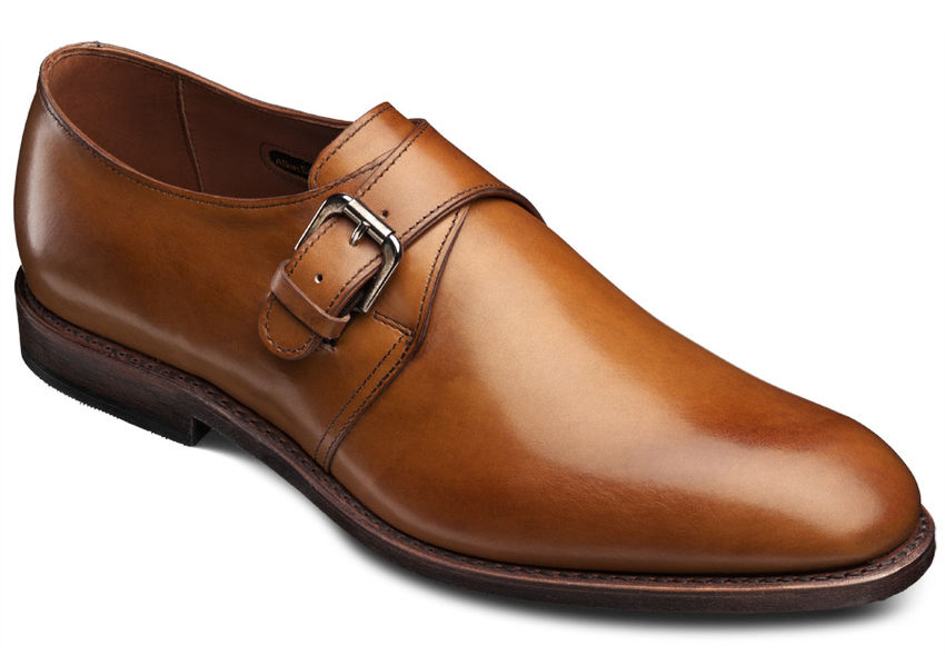 allen edmonds shoes warwick walnut burnished calf