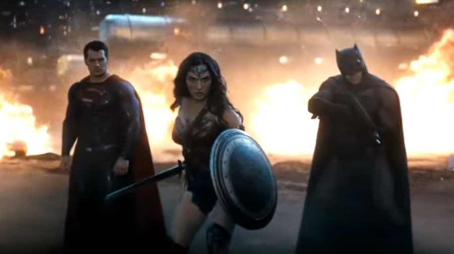 """Batman v Superman: Dawn of Justice"" Trailer Hints at Epic Battle"