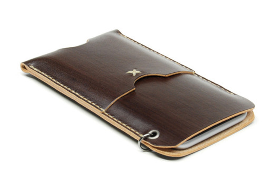 jaqet espresso iphone 6 leather wallet