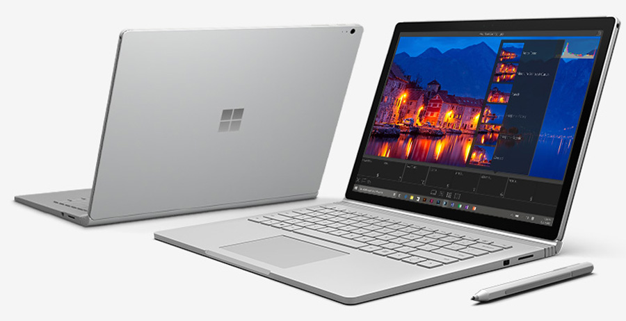 microsoft surface book laptop