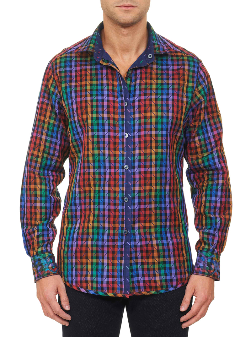 robert graham festival of lights shirt