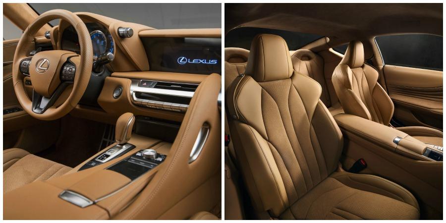 Lexus LC 500 interior