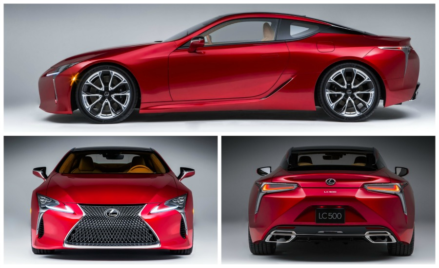 Lexus LC 500 photos