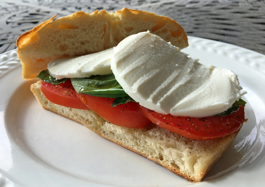 How to Make a Caprese Salad Sandwich
