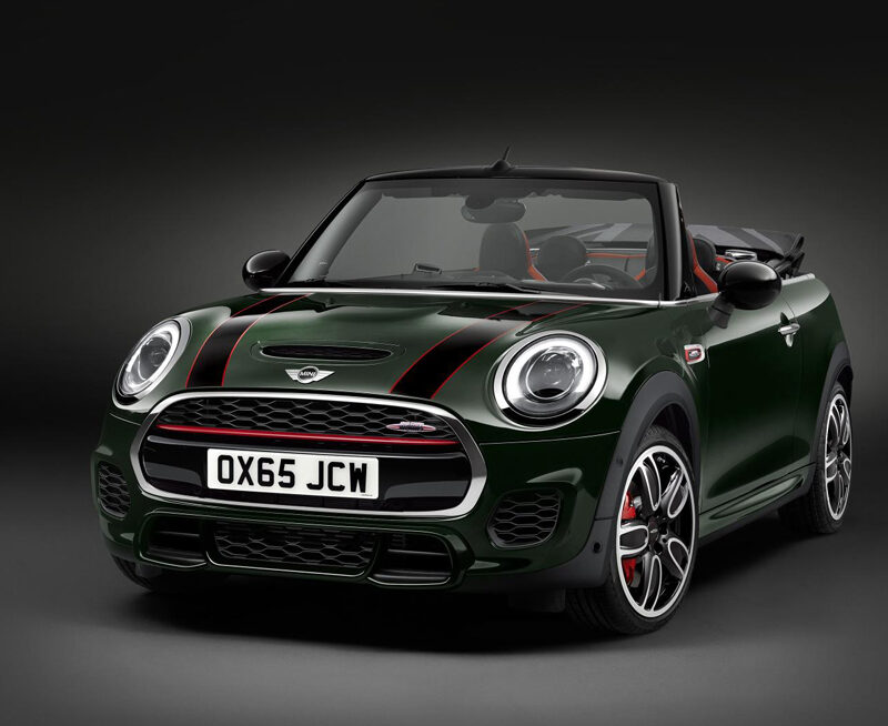 mini john cooper mini works convertible