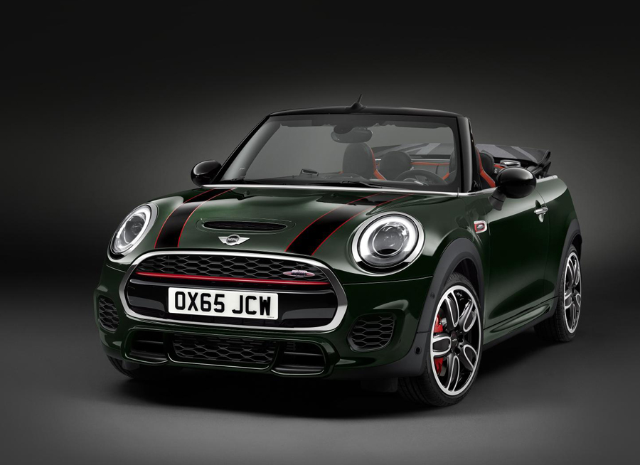 The MINI John Cooper Works Convertible Offers an Exhilarating Open-Air Experience