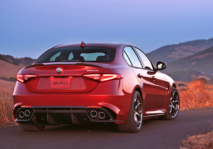 The 2017 Alfa Romeo Giulia Quadrifoglio Is The Epitome Of