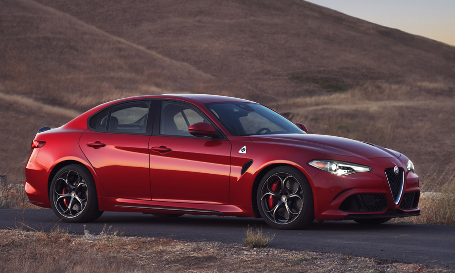 The 2017 Alfa Romeo Giulia Quadrifoglio is the Epitome of Italian Design and Performance