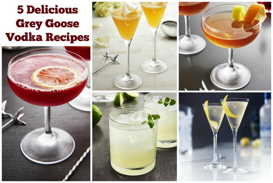5 Delicious Grey Goose Vodka Cocktail Recipes Inspired by Movies