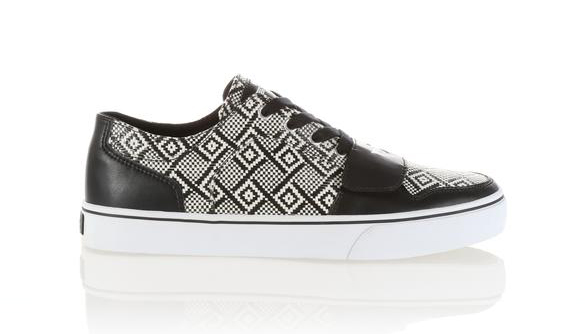 Creative Recreation Cesario Lo XVI Black White Woven