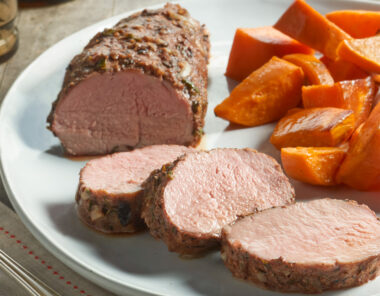 heart healthy Pork Tenderloin