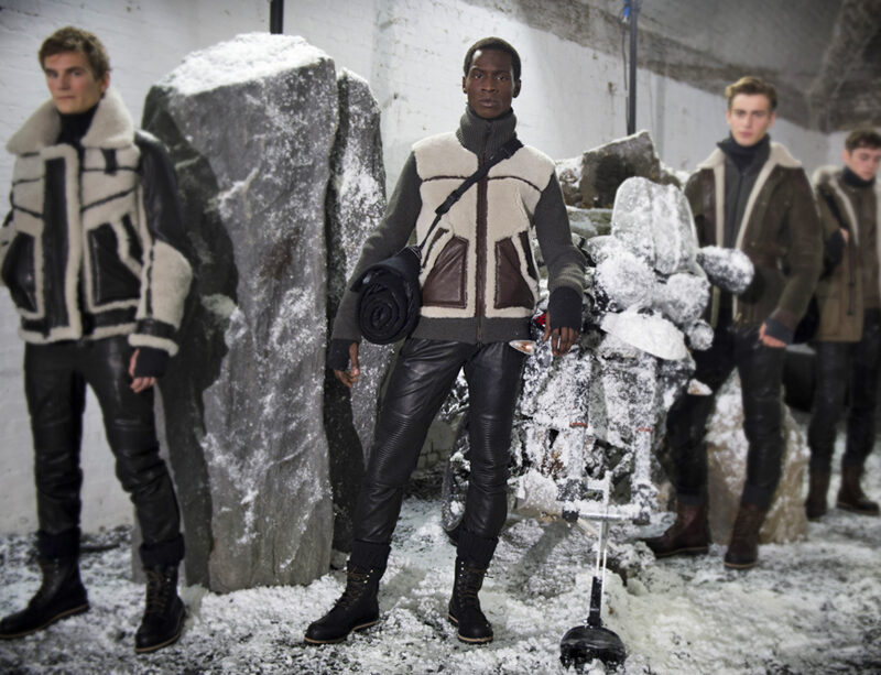 belstaff autum winter menswear collection