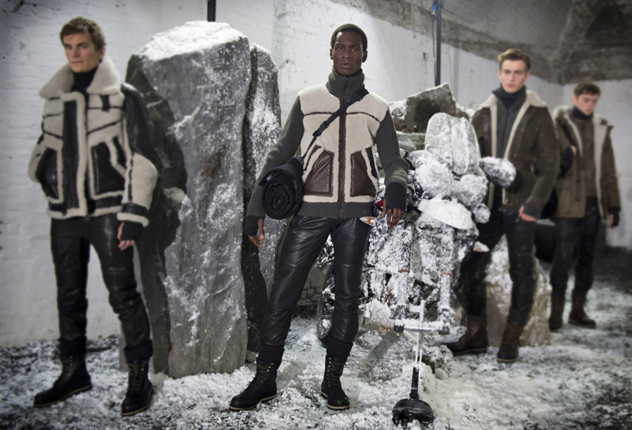 belstaff autum winter menswear collection