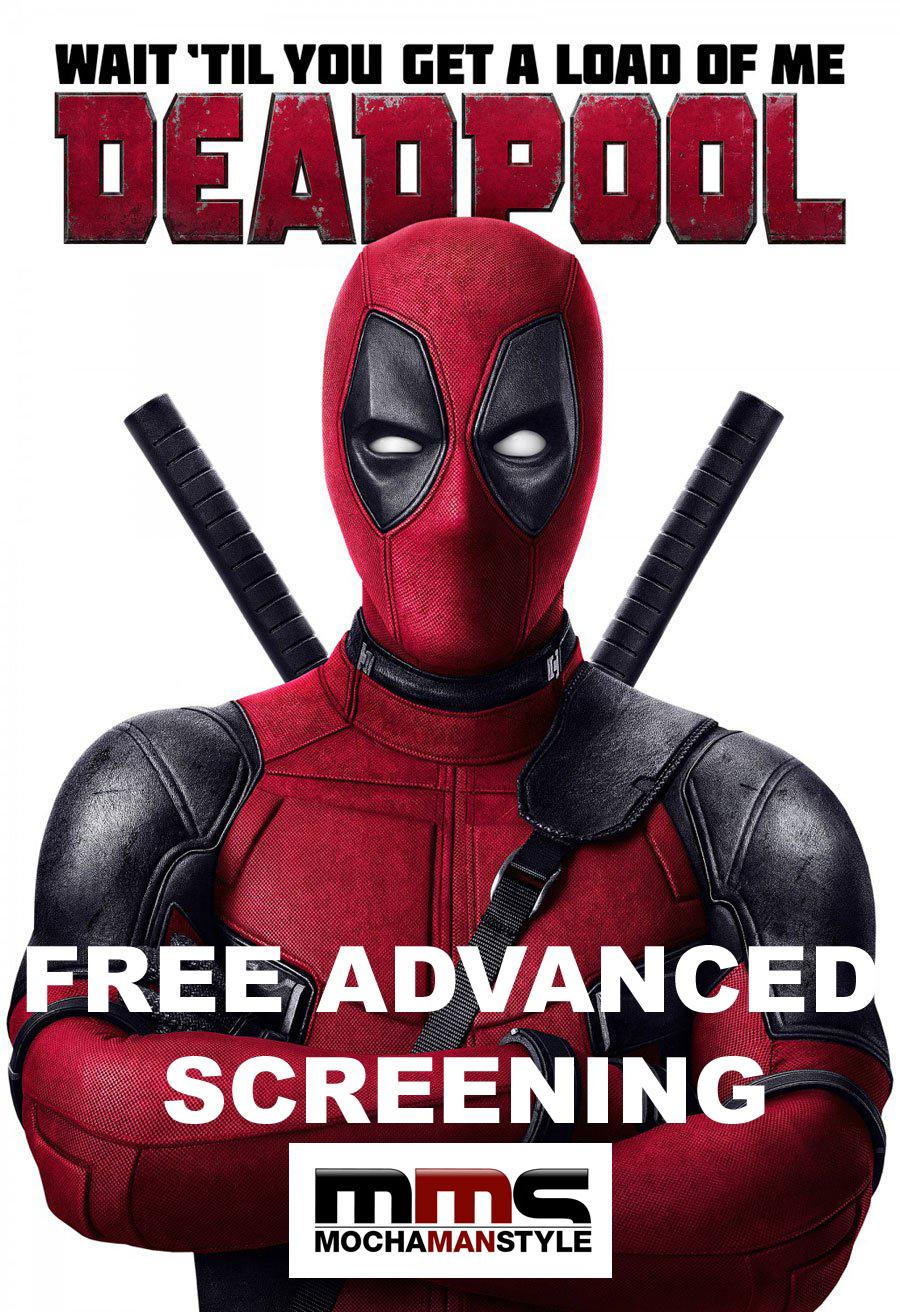 "Mocha Man Style Events: ""Deadpool"" Advanced Screening"