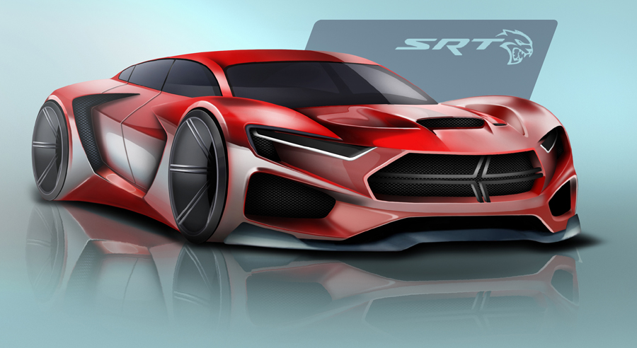 Dodge SRT Concept Wins the Drive for Design Contest