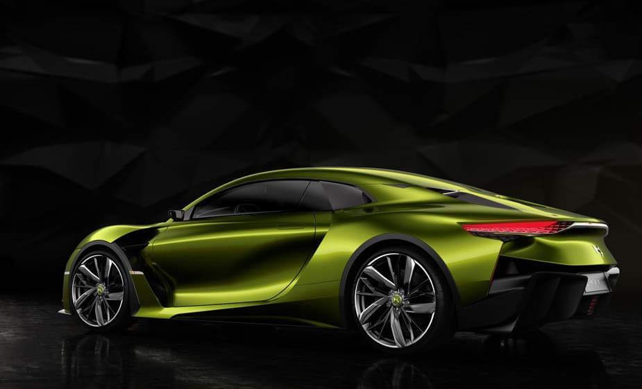 Advanced Tech Fuels the Futuristic DS E-TENSE Electric Car