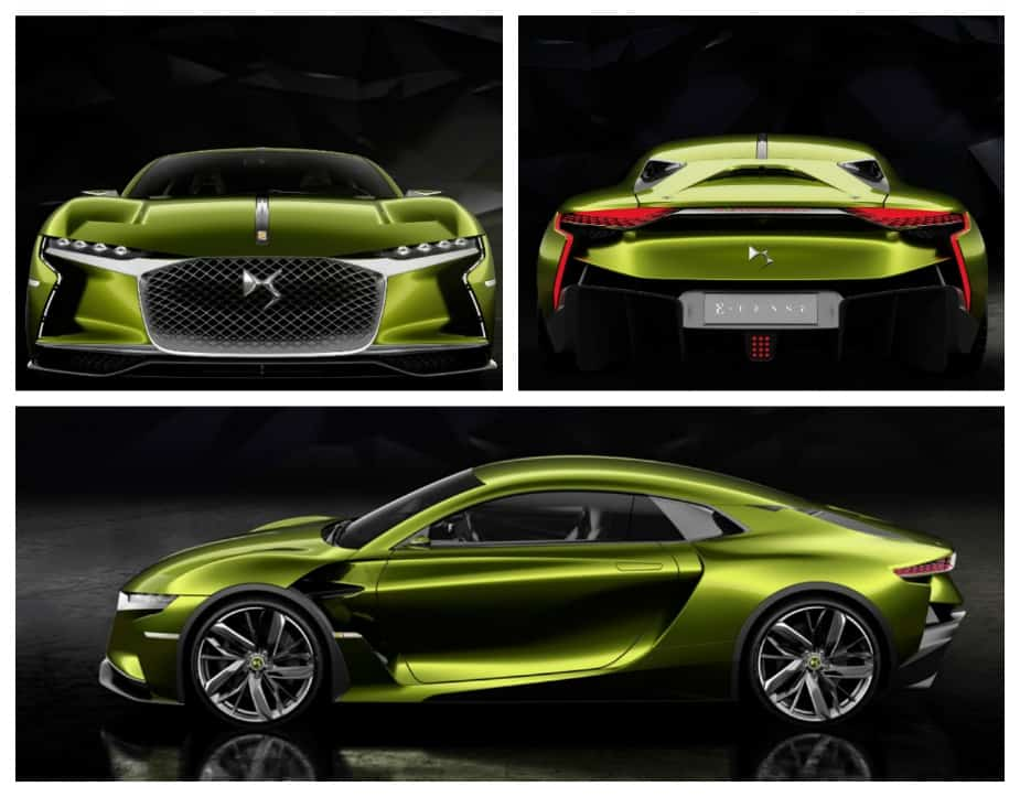 ds automobiles ds e-tense electric car