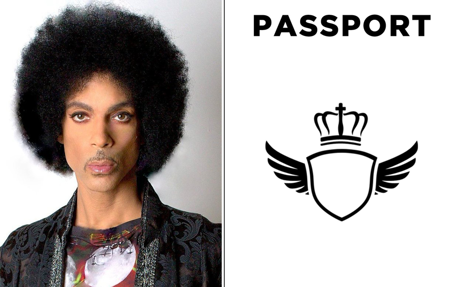 Prince's Passport Photo is Way Better Than Yours