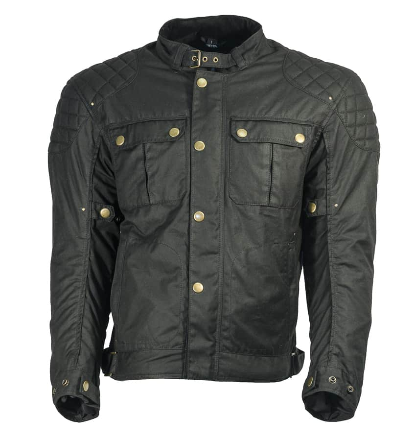 richa scrambler motorcyle jacket