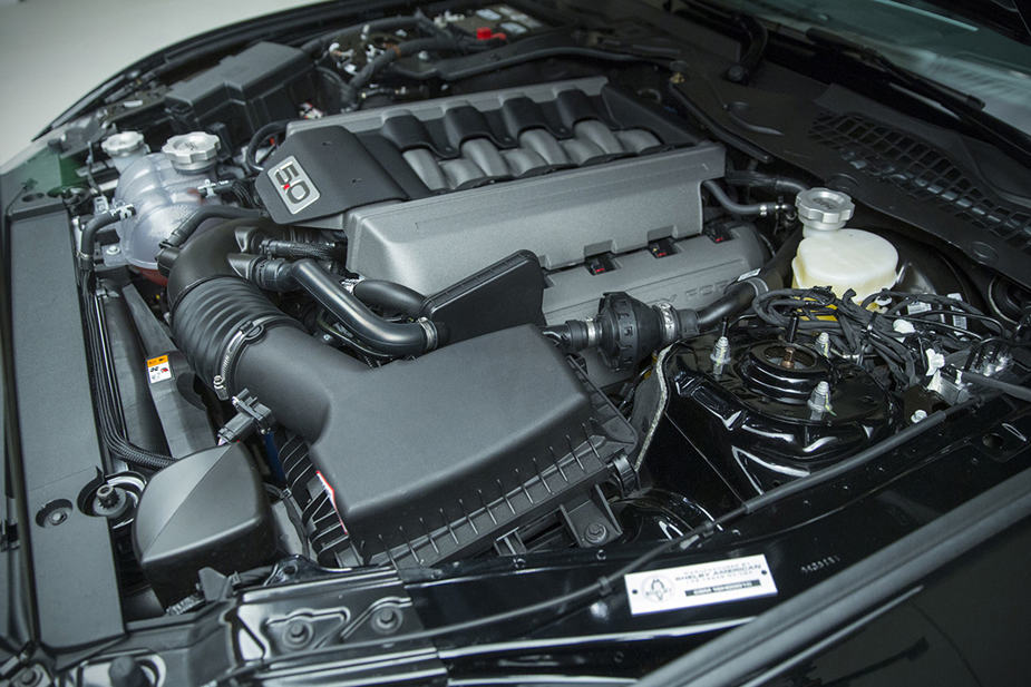 2016 Ford Shelby GT-h mustang engine hertz
