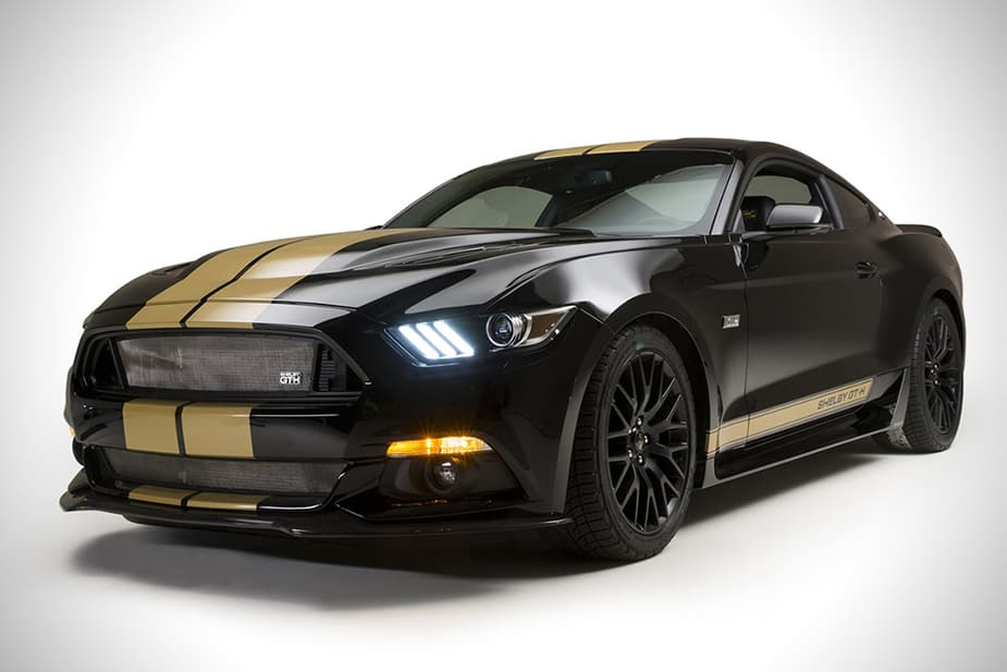 2016 Ford Shelby GT-h mustang front hertz