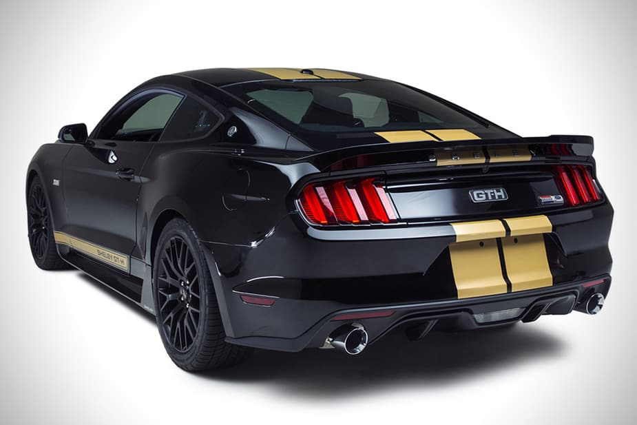 2016 ford Shelby GT-h mustang rear hertz