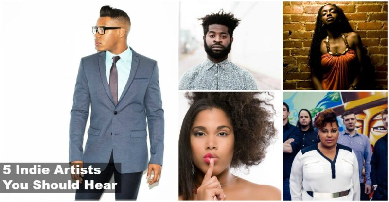 5 Indie Artists march 2016