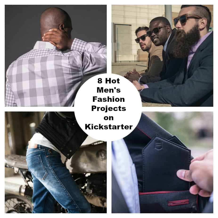 8 Hot Men's Fashion Projects on Kickstarter