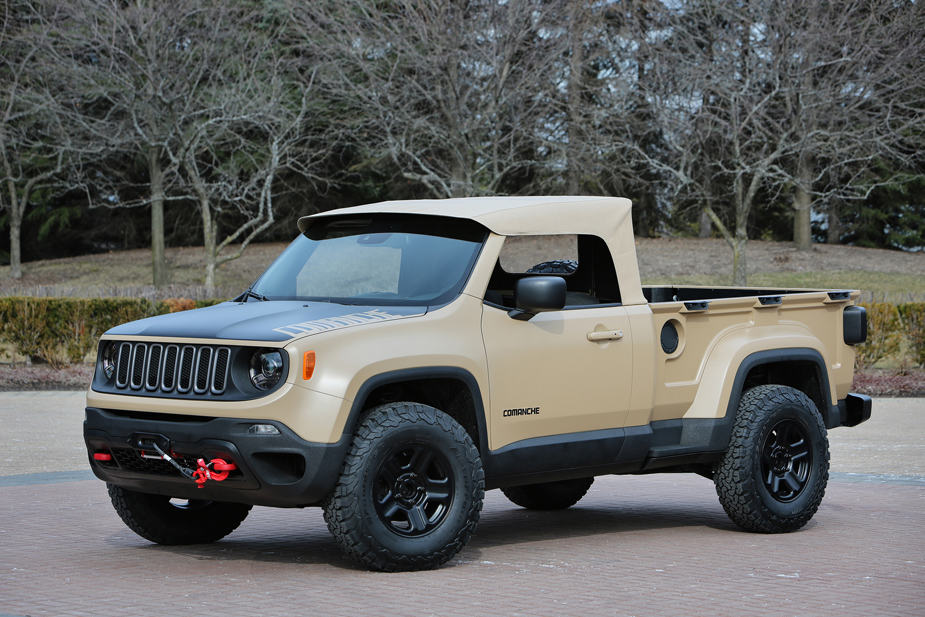 Jeep Comanche Concept Jeep Safari Moab