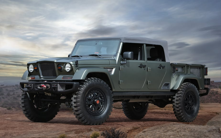 Jeep Crew Chief 715 Concept Jeep Safari Moab