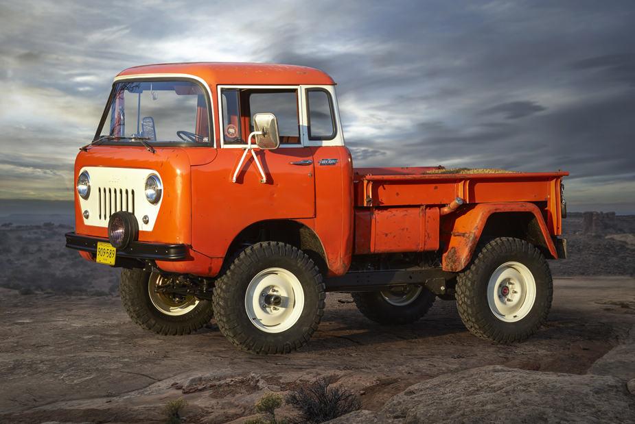 Jeep FC 150 Heritage Vehicle Jeep Safari Moab