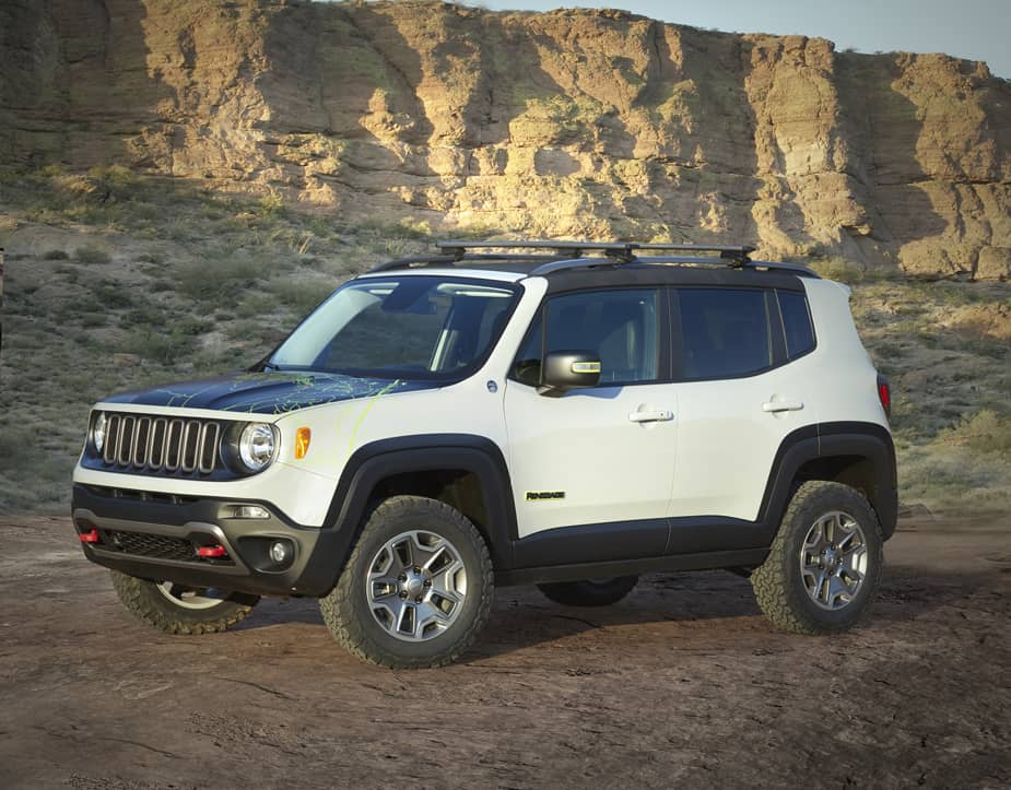 Jeep Renegade Commander Concept Jeep Safari Moab