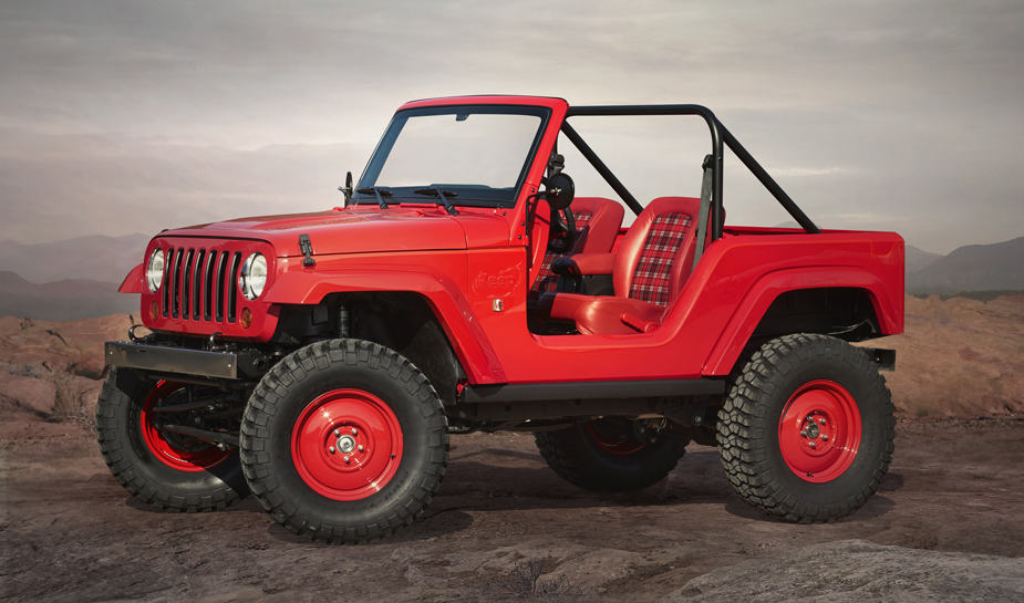 Jeep Shortcut Concept Jeep Safari Moab