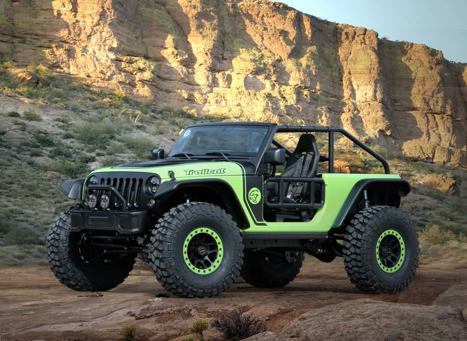 Jeep Trailcat Concept Jeep safari moab
