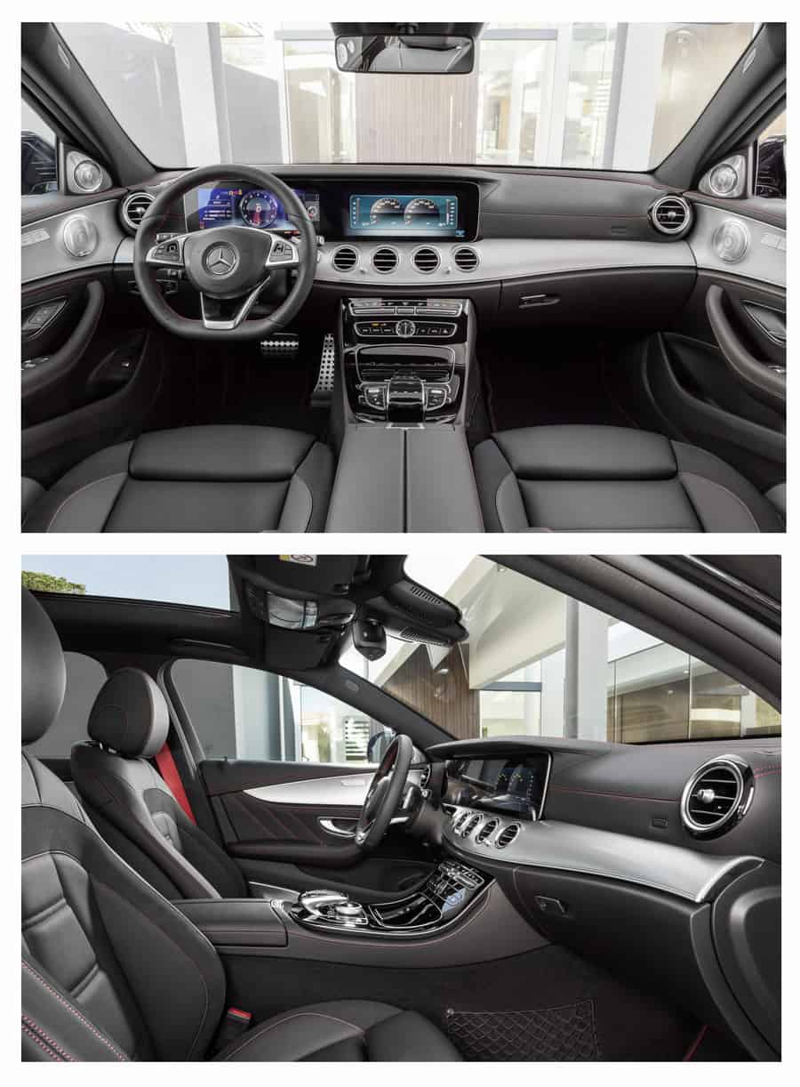 MERCEDES AMG E 43 4MATIC interior