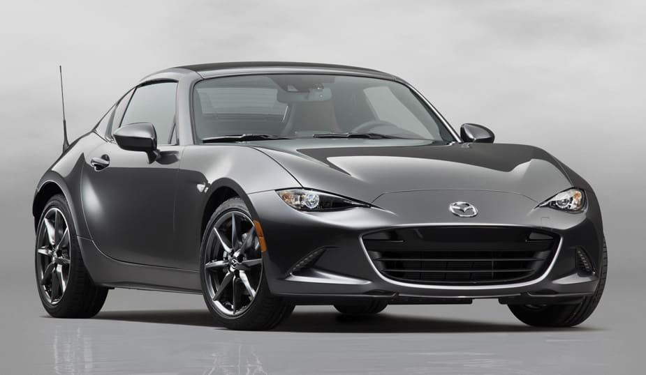 Want a Retractable Hardtop? The Mazda MX-5 RF Has You Covered