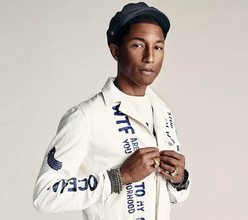 Pharrell Williams g-star raw denim