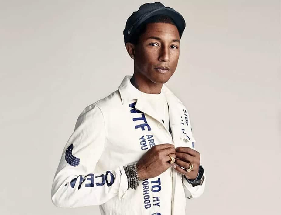 Pharrell Williams g-star raw denim