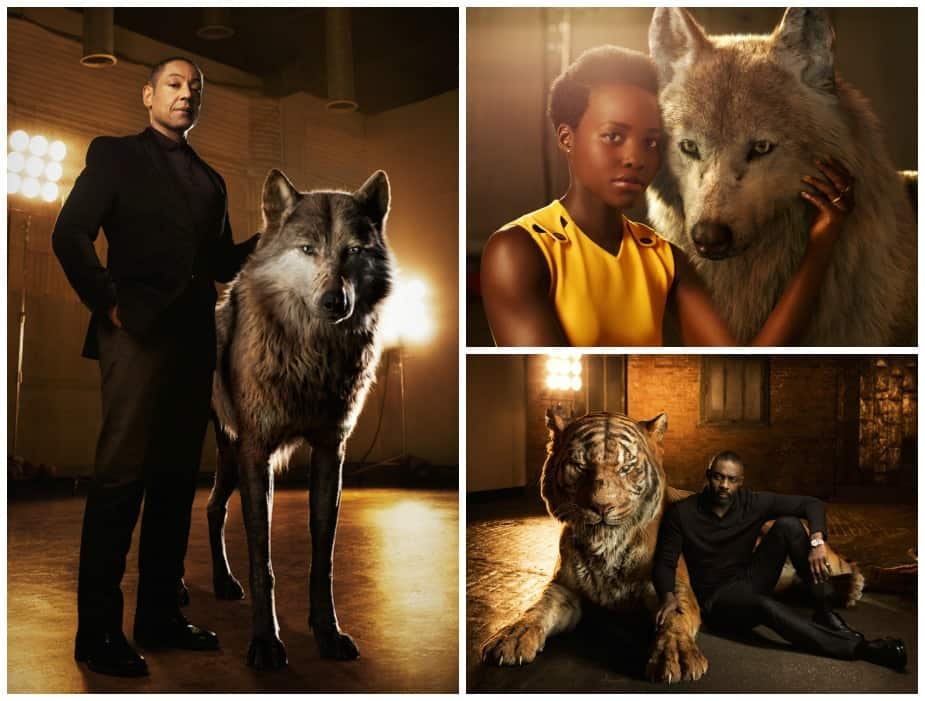 "Idris Alba, Lupita Nyung'o, and Giancarlo Esposito Reveal Their Spirit Animals in ""The Jungle Book"""